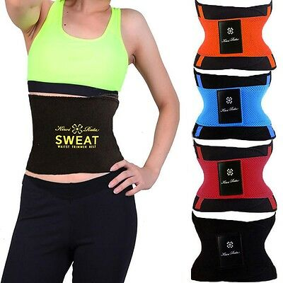 Shapers Women Waist Trimmer Sweat Belt Body Shaper Weight Loss Sauna Shapewear