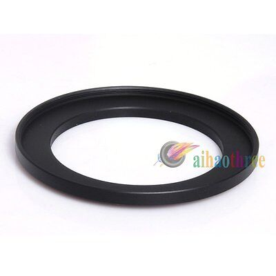 Metal 58mm-72mm 58-72mm 58 to 72 Metal Step Up Lens Filter Ring Adapter Black