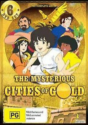 The Mysterious Cities Of Gold Complete Series ( 6 Dvd Set ) Region 4