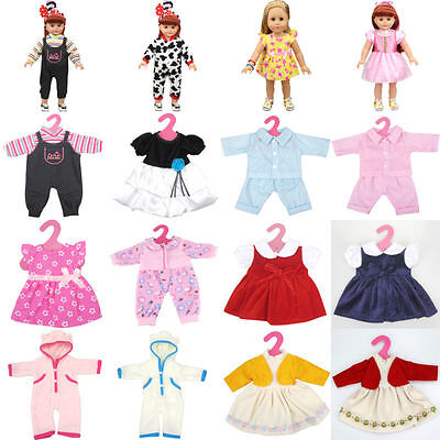 New Clothes Dress Skirt Pajamas for 18inch American girl doll children gifts
