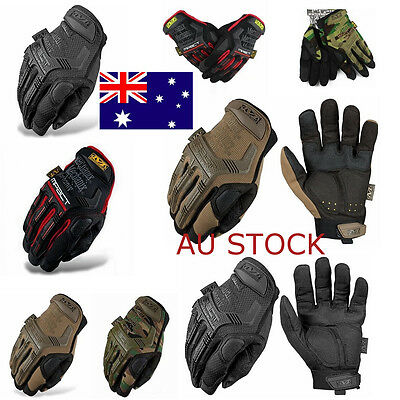 Military Tactical Mechanix Airsoft Full Finger Gloves Outdoor Hunting  Shooting