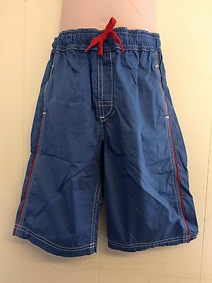 Lovely Blue 100% Cotton Trousers Long Shorts from Feu Follet - Age 5-6yrs  BNWT!