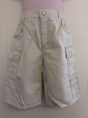 Lovely Beige 100% Cotton Cargo Trousers from Hamilton Age 2 or 3 Yrs - BNWT!!