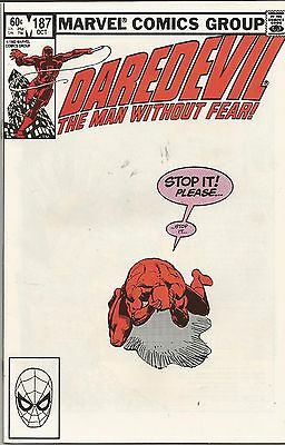DAREDEVIL (1964) #187 Back Issue (S)
