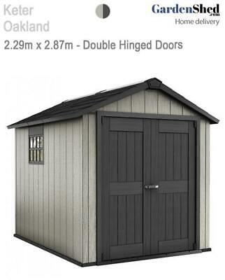 Keter Oakland 759  2.29m x 2.87m - FREE HOME DELIVERY