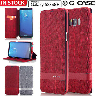Samsung Galaxy S9 /S8 Plus Case Flip Leather Wallet Card Slot Holder Stand Cover