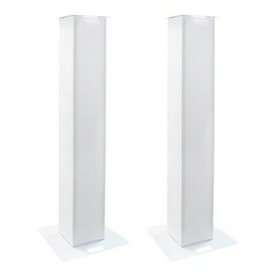 Equinox 1.5m DJ Plinth Kit (Pair) DJ Disco Wedding Lighting Speaker Stand Scrim