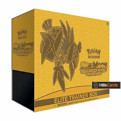 Pokemon Cards Sun & Moon Guardians Rising Elite Trainer Box - inc Booster Packs