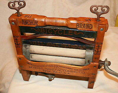 Antique Anchor Brand Clothes Wringer Model 770, Lovell Manufacturing Co. Erie PA