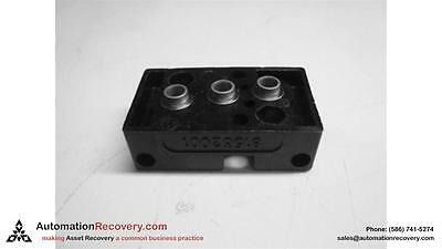 Crouzet 81 532 001 Pneumatic Sub-Base, Relay Terminal And Screw #124248