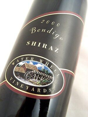 2000 WATER WHEEL Vineyards Shiraz Isle of Wine