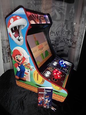 Borne Cabinet Arcade Machine Jeux video game Bartop USA 1-5 player Pro garantie