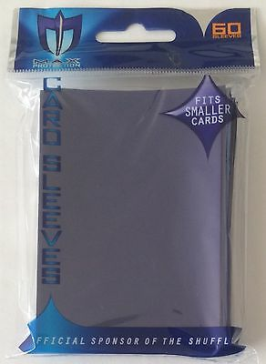 Max Protection BLUE Trading Card Sleeves - 60 Pack - Fits Smaller Cards - YuGiOh