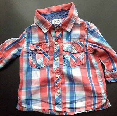 Baby boys shirt 6-9 months boys clothes top