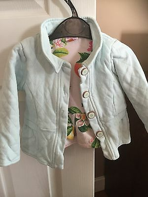 Ted Baker Girls Jacket 12-18 Months