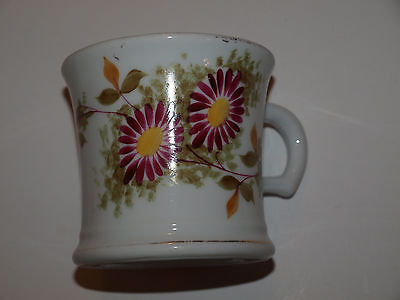 Antique Shaving Mug by Excelsior with Pattern date of Sept 20 1870