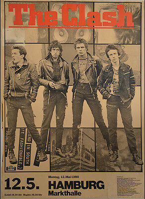 THE CLASH City Rockers Punk Rock Relics Poster Art Print Canvas Giclee Annex Art