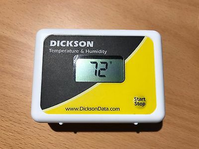 Dickson Temperature and Humidity Data Logger Model TP425
