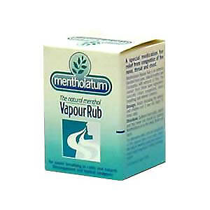 Mentholatum Vapour Rub - Helps Breathing, Colds, Clears Sinuses, Pain Relief