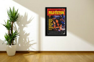 Pulp Fiction Movie Wall Art Poster Picture Various Sizes, Framed Or Unframed
