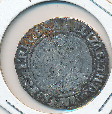 Great Britain Shilling Elizabeth I 1560-1 MM94 S2555