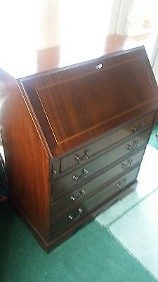 Mahogany Reproduction Writing Bureau