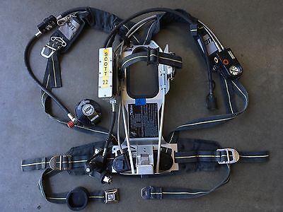 Scott 2.2 AP50 SCBA w/ HUD, Integrated PASS, EBSS Buddy Breathing & RIT/UAC (A)