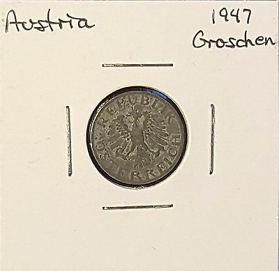 Austria  Groschen/Schilling - Group of 3 Coins