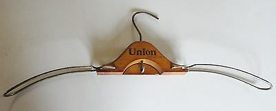 Antique Wire and Wood Folding Hanger..Mens & Womens...large