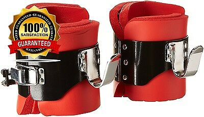 We R Sports™ DefyIT™ SE1 Gravity Boots Deluxe Heavy Duty Inversion Boots - Red