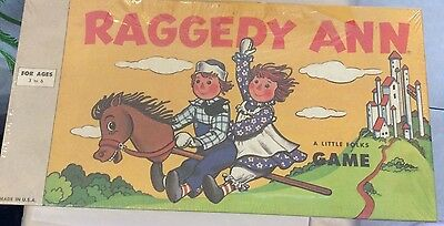 Raggedy Ann Game A Little Folks Game brand new simon & schuster
