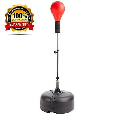 Ultrasport Adjustable Punching Stand with Speed Ball