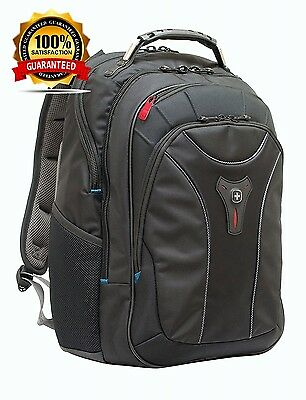 """Wenger 600637 CARBON 17"""" MacBook Pro Backpack , Padded laptop compartment..."""
