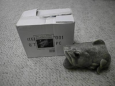 Gutter Mouth Bass Decorative Gutter Downspout Extension Statue - FREE SHIPPING !