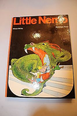 Little Nemo Nostalgia Press 1974 Winsor McKay Hardcover BOOK