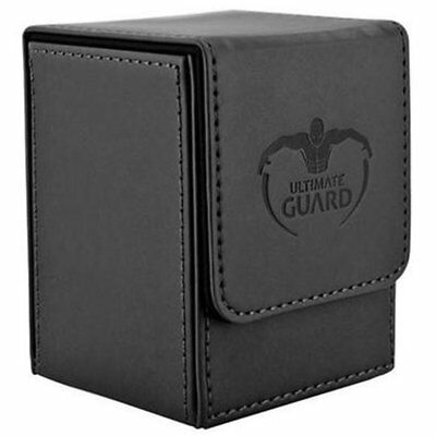 Deck Box Ultimate Guard Flip Deck Case 100+ Standard Size Black