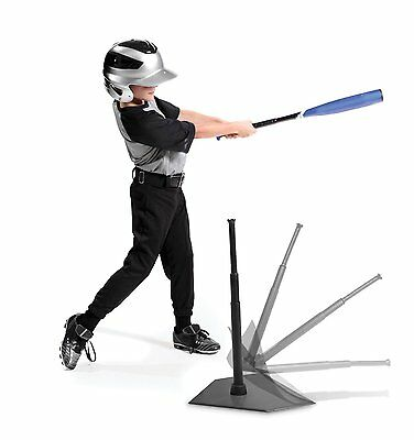 Youth Pop Back Tee Adjustable Height Batting Trainer BASEBALL SOFTBALL New