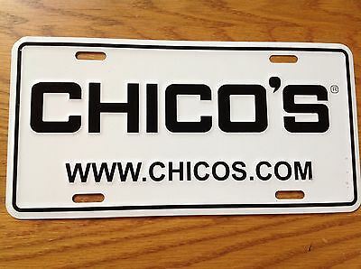 Chico's Licenses Plate