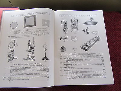 Vintage 1923 Science Lab Glass Microscope Laboratory Apparatus Catalog Equipment