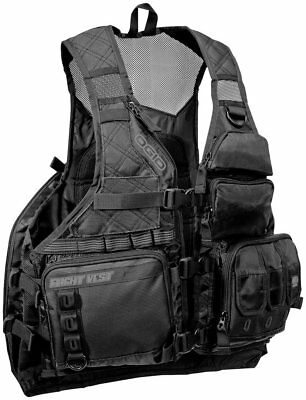 Ogio MX Flight Hydration/Cargo Motorsports Vest 70 Oz Stealth
