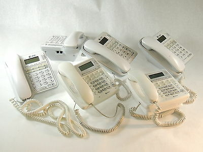 LOT of 6 - AT&T CL2909 / CL2950 White Business Phone System Office Telephone