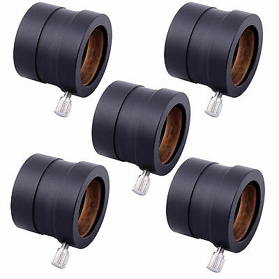 "5x Sale Metal 1.25"" to 0.965"" Telescope Eyepiece Mount Adapter 31.7mm to 24.5mm"