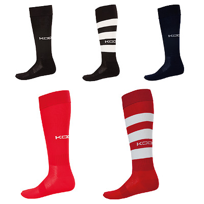 KooGa Traditional rugby sock No shrinkage No colour loss Sizes S-L