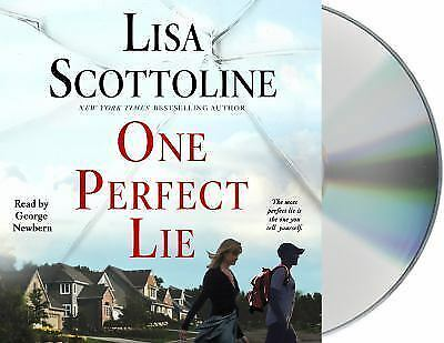 One Perfect Lie, by Lisa Scottoline (2017, audiobook, CD, unabridged)