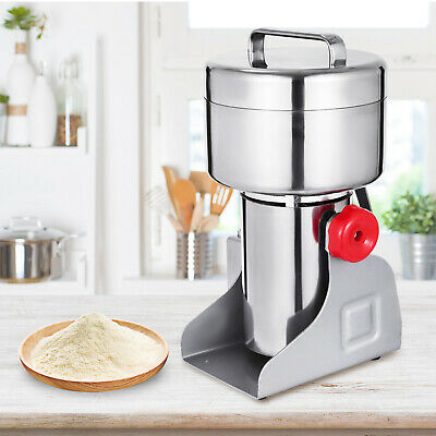 500g Electric Herb Grain Mill Grinder Wheat Cereal Pepper Grinding 2300W Powder