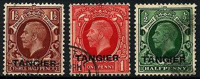 Tangier 1934 SG#235-237 KGV Used Set #D47529