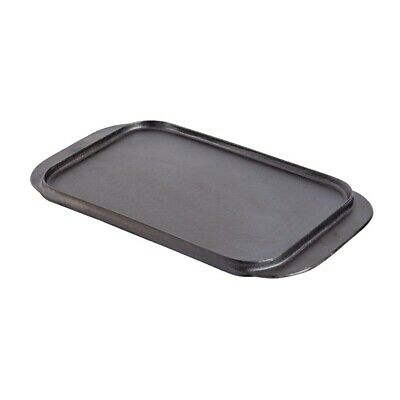Vogue Reversible Cast Iron Double Griddle Pan BARGAIN