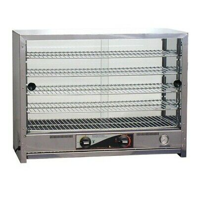 Commercial Roband Pie Warmer Food Warm Heat Hot Display Unit Showcase Pa100
