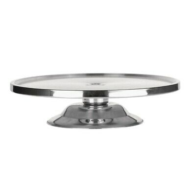 Cake Stand Stainless Steel 325 x 80mm BARGAIN