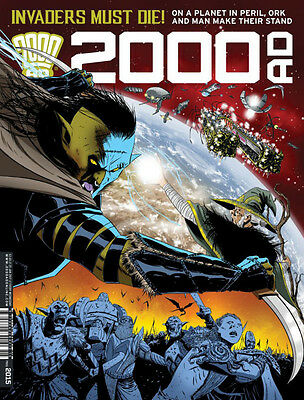 2000AD Prog #2015 - 25 Jan 2017 - NEW